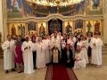 Holy Saturday Baptistms 2 St Johns 2016